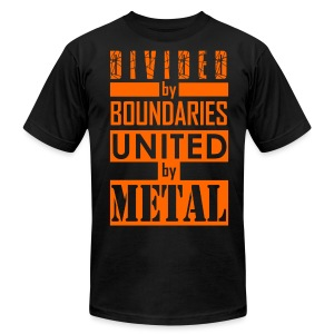 United by Metal - Men's T-Shirt by American Apparel