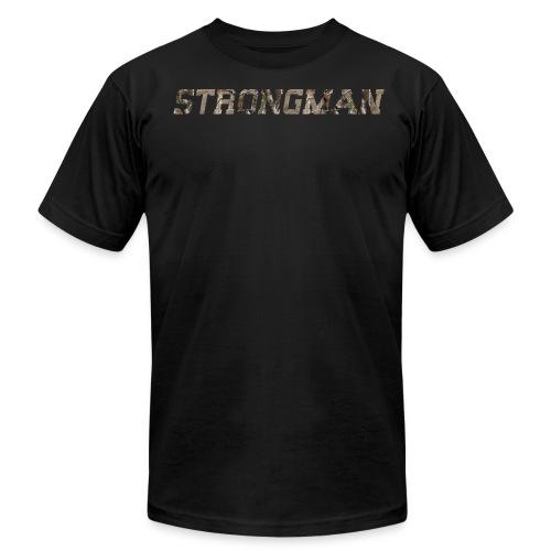 strongman front - Men's Fine Jersey T-Shirt