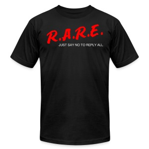 R.A.R.E - Reply All Resistance Education - Men's Fine Jersey T-Shirt