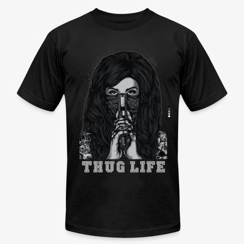 Thug Life T-shirt - Men's Fine Jersey T-Shirt