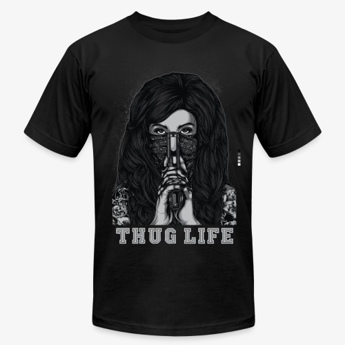 Thug Life T-shirt - Men's  Jersey T-Shirt