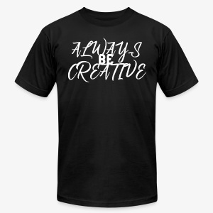 Creativity and Inspire - Men's Fine Jersey T-Shirt