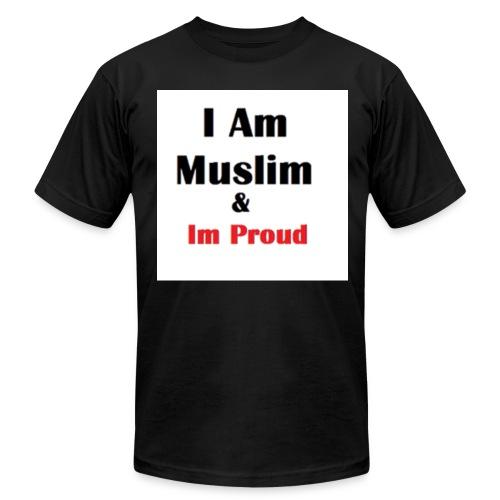 I Am Muslim - Men's Fine Jersey T-Shirt