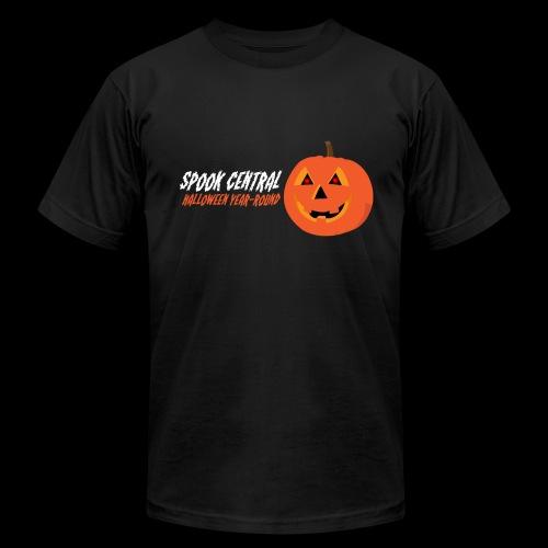 Spook Central, Halloween Year Round - Men's Fine Jersey T-Shirt