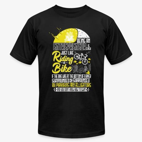 Being an Entrepreneur - Men's Fine Jersey T-Shirt
