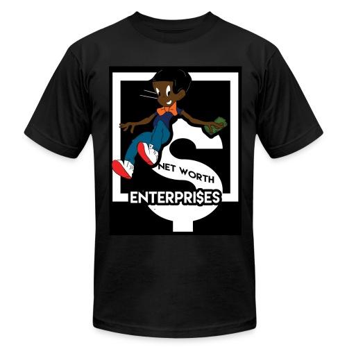 blk richie rich - Men's Fine Jersey T-Shirt