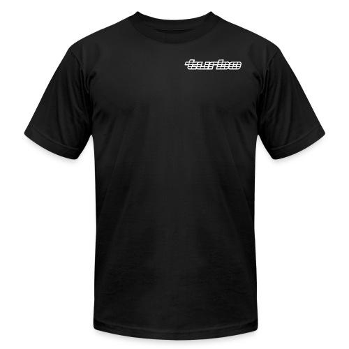 VL Turbo Black - Men's Fine Jersey T-Shirt
