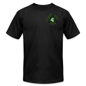 ATOMIC DOG GLOW - Men's Fine Jersey T-Shirt