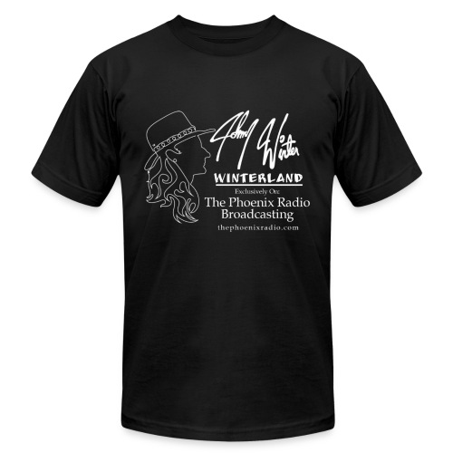 Johnny Winter's Winterland - Men's Fine Jersey T-Shirt