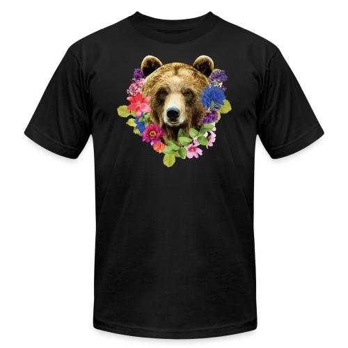 bearrFlowers - Men's Fine Jersey T-Shirt