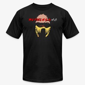 ruthless mc color logo t shirt - Men's Fine Jersey T-Shirt