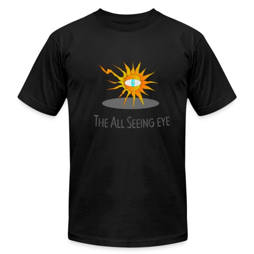 The All Seeing eye - Men's Fine Jersey T-Shirt