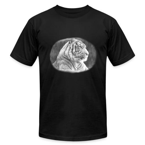 Tiger Sketch - Men's Fine Jersey T-Shirt