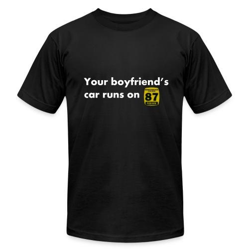 Boyfriends Fuel Preference - Men's Fine Jersey T-Shirt