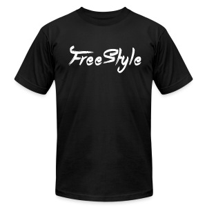 freestyle - Men's T-Shirt by American Apparel