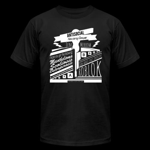 ANTISOCIAL SHIRT - Men's Fine Jersey T-Shirt