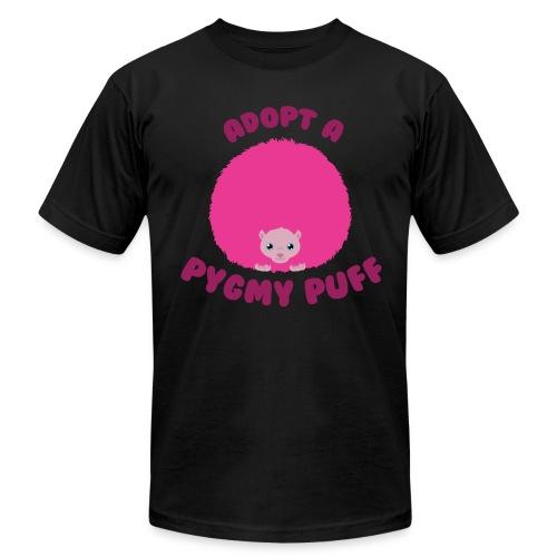 Adopt a Pygmy Puff Logo - Men's Fine Jersey T-Shirt