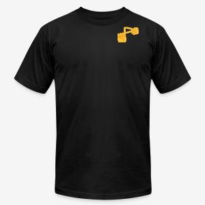 Official Pixomar Logo Design Shirt - Men's Fine Jersey T-Shirt