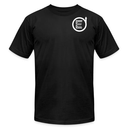 Classic Black Elevated Shirts - Men's Fine Jersey T-Shirt