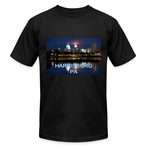 Harrisburg is home - Men's Fine Jersey T-Shirt