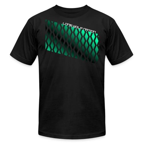 Diamond Pattern By Lone Wolf Nation - Men's Fine Jersey T-Shirt