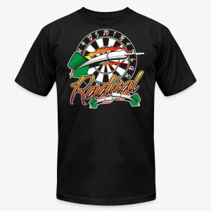 Radical Darts Shirt - Men's T-Shirt by American Apparel