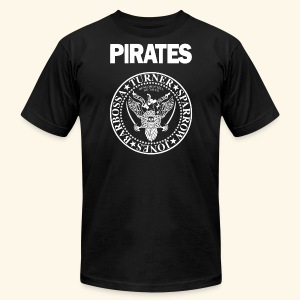 Punk Rock Pirates [heroes] - Men's T-Shirt by American Apparel