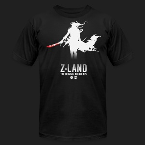 Z-LAND Survivor - Men's T-Shirt by American Apparel