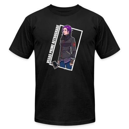 Vegas Prime Retrograde - Clara with White Border - Men's  Jersey T-Shirt