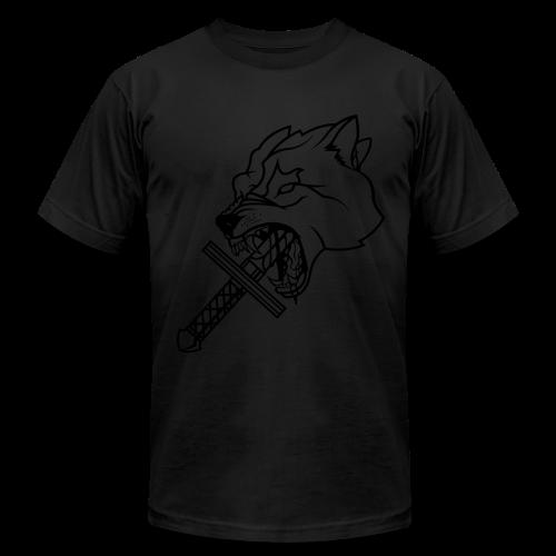 Heretic Hoard Wolf - Men's Fine Jersey T-Shirt