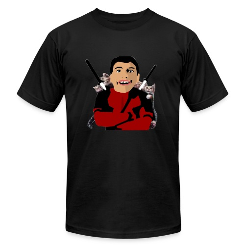 face reveal - Men's Fine Jersey T-Shirt