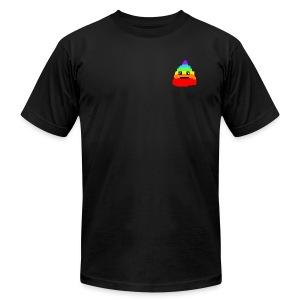 Poooo - Men's Fine Jersey T-Shirt