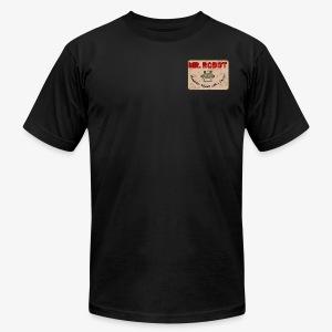 Printed Mr.Robot Patch - Men's Fine Jersey T-Shirt