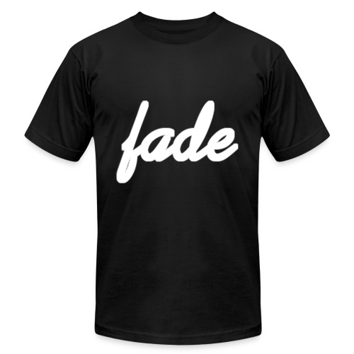 Fade Official Cursive - Men's  Jersey T-Shirt