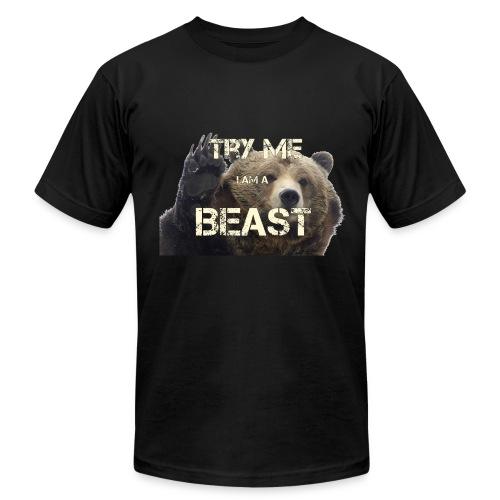 TRY ME BEAST - Men's Fine Jersey T-Shirt