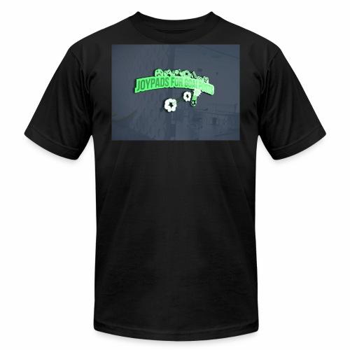 3D Mockup - Men's Fine Jersey T-Shirt