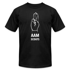 AAM SCOUTS - THE OATH - Men's Fine Jersey T-Shirt