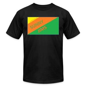 Sunny Jims YouTube Shirt Hoodie (Official) - Men's Fine Jersey T-Shirt