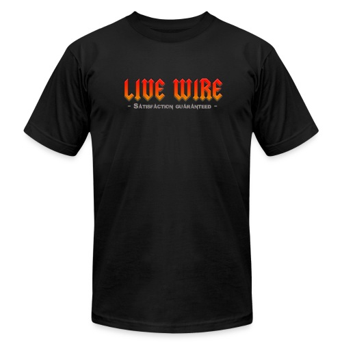 Live Wire - Men's Fine Jersey T-Shirt