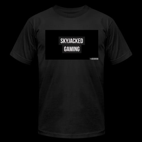 SKYJACKED GAMING BOX LOGO T SHIRT - Men's Fine Jersey T-Shirt