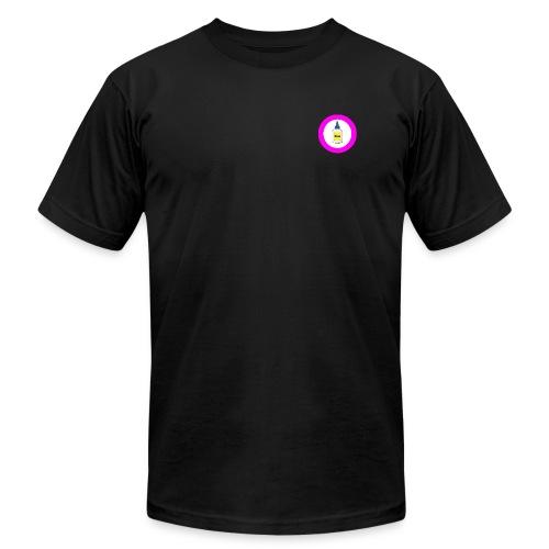 Glue logo - Men's Fine Jersey T-Shirt