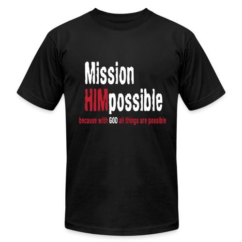 BetterMissionLogoHIGHnew - Men's Fine Jersey T-Shirt