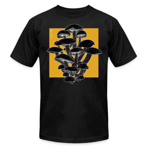 shrooms 2 edited 1 - Men's Fine Jersey T-Shirt