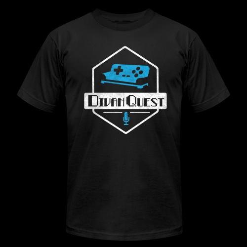 DivanQuest Logo (Badge) - Men's Fine Jersey T-Shirt