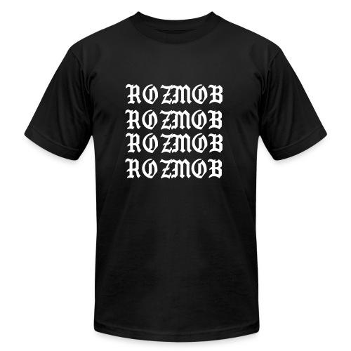 ROZMOB DESIGNER TYPE - Men's Fine Jersey T-Shirt