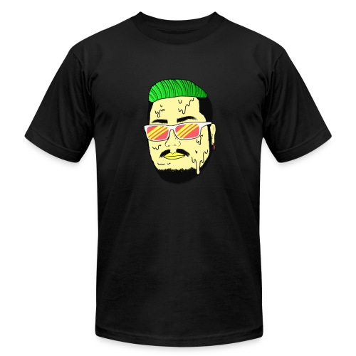 Monster Infested Face - Men's Fine Jersey T-Shirt