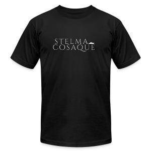 ☛Stelma Cosaque Logo Shirt☚ - Men's Fine Jersey T-Shirt