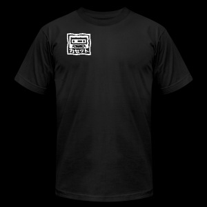 CASSETTE JAPENESE - Men's T-Shirt by American Apparel