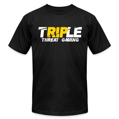 Triple Threat Gaming - Men's Fine Jersey T-Shirt