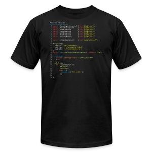Frankenstein made with Angular - Men's Fine Jersey T-Shirt